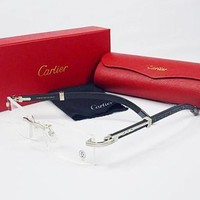 Perfect Cartier Women Popular Shades Eyeglasses Glasses