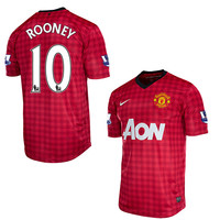 Rooney Jersey Manchester United Youth/Boys 2012-2013