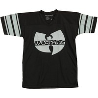 Wu Tang Clan Men's  #97 C.R.E.A.M. Football Jersey Footbal  Jersey Black
