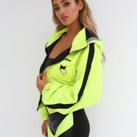 Buy Our Neptune Jacket in Neon Yellow Online Today! - Tiger Mist