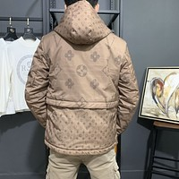 LV Louis Vuitton Fashion Men's Sweater Hoodies T- shirt Bomber Jacket Casual Embroidery Printed   Tracksuit Outerwear Coat Hip Hop Slim Fit Hooded Jackets