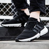 Adidas Originals POD-S3.1 Boost New fashion couple sports leisure shoes Black