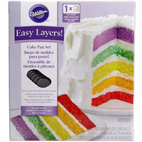 Wilton® Easy Layers! Cake Pan Set
