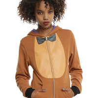 Five Nights At Freddy's Girls Reversible Cosplay Hoodie