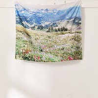 Hillary Murphy For Deny Wildflower Meadow Tapestry | Urban Outfitters