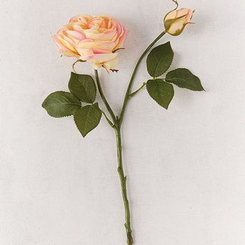 Garden Rose Faux Flower   Urban Outfitters