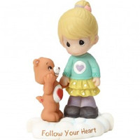 Precious Moments Care Bears Tenderheart Figurine - Girl