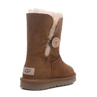"""UGG"" female fashion wool snow boots"