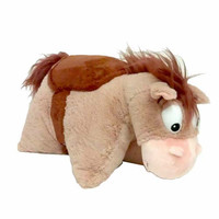 """disney parks toy story bullseye reverse pillow 20"""" plush new with tags"""