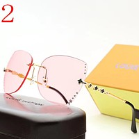 Perfect Louis Vuitton LV  Women Fashion Summer Sun Shades Eyeglasses Glasses Sunglasses