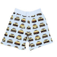 GOLD TRANZ SHORT PANTS / LIGHT BLUE