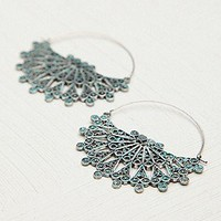 Du Ornate Hoop at Free People Clothing Boutique