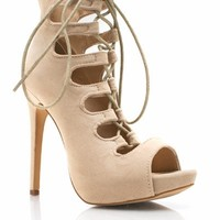 Yes Of Corset Cut-Out Booties - GoJane.com
