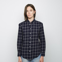Flannel Boyfriend Shirt by Band of Outsiders