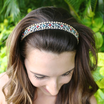 Jewel Tone Fiesta Headband