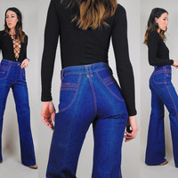 70's indigo deadstock bell bottoms