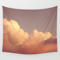 Skies 03 Wall Tapestry by The Last Sparrow