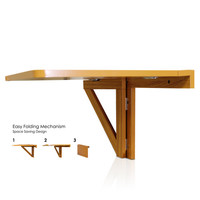 Furinno Wall Mounted Floating Desk