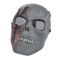NEEWER® Army Airsoft Protect Full Face Skeleton Skull Mask Game