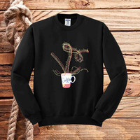 hot coffee sweater unisex adults