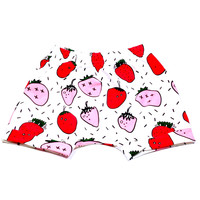 Strawberry Harem Shorts