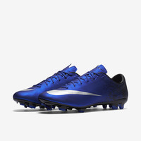 The Nike Mercurial Veloce II CR7 Men's Firm-Ground Soccer Cleat.