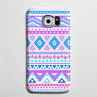 Tribal Pink Blue Ethnic Phone Things I like Galaxy s6 Edge Plus Case Galaxy s6 Case Samsung Galaxy Note 5 Case s6-072