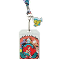 Disney The Little Mermaid Characters Lanyard