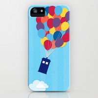 Up and Away - Doctor Who iPhone & iPod Case by Northern Redwood