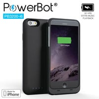 MFi PowerBot® PB3200-i6 Battery Charger Case for iPhone 6
