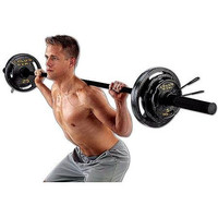 Gold's Gym 110 Lb Olympic Weight Set with bar