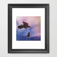 Learn to Fly Framed Art Print by Olivia Joy StClaire