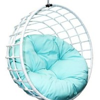 Outback Company UBC-996 Urban Balance Sphere Rattan, White (Discontinued by Manufacturer)