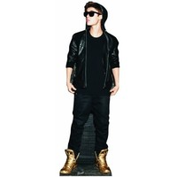 Justin Bieber Gold Shoes Lifesize Standup Poster