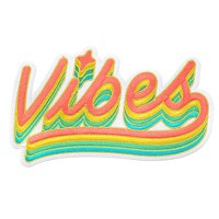 Vibes Large Back Patch