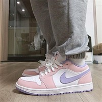 Nike Air Jordan 1 Low All-match Fashionable Sneakers Shoes