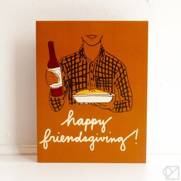 Happy Friendsgiving Greeting Card