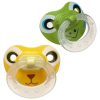 NUK Animal Faces Puller Pacifier in Assorted Colors and Styles, 6-18 Month