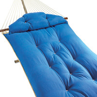 Tufted Fabric Hammock at Brookstone—Buy Now!