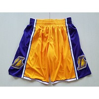 Lakers yellow Nike pants S-XXL