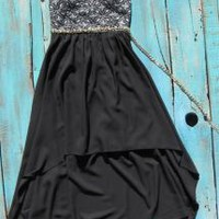 western black high low cowgirl dresses | Elusive Cowgirl
