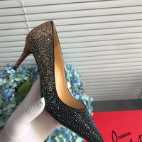 Hot Christian Louboutin Cl Kate Strass Pumps