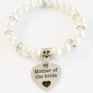 Mother of the Bride Jewelry | Wedding Jewelry | Mother of the Bride Gift | Pearl Wedding Jewelry | Gift For Mom