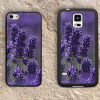 Lavender Flowers iPhone Case-Butterfly iPhone 5/5S Case,iPhone 4/4S Case,iPhone 5c Cases,Iphone 6 case,iPhone 6 plus cases,Samsung Galaxy S3/S4/S5-151
