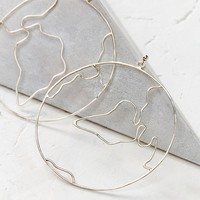 Oxbow Designs All Places Statement Earring   Urban Outfitters
