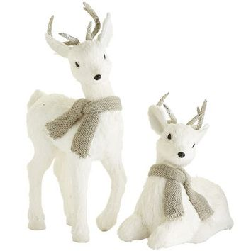 Natural Reindeer - White