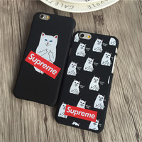 Supreme Cats Case for iPhone