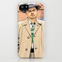 Leonardo DiCaprio in Shutter Island - Colored Sketch Style iPhone & iPod Case by ElvisTR