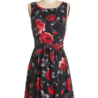 ModCloth Sleeveless A-line Lovestruck by a Feeling Dress