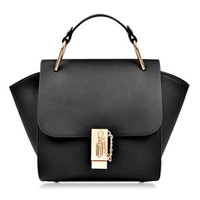 Stylish Style Black Women's Tote Handbag Purse